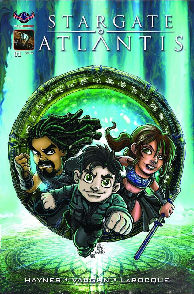 Stargate Atlantis: Gateways #1 (Gate Kids Cover)