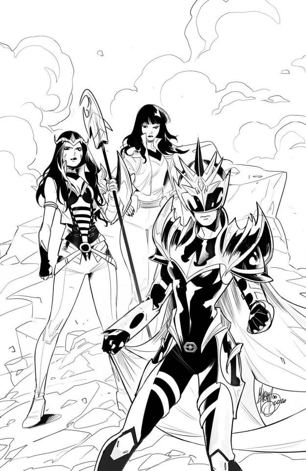 Power Rangers: Drakkon - New Dawn #2 (25 Copy Mora Cover)