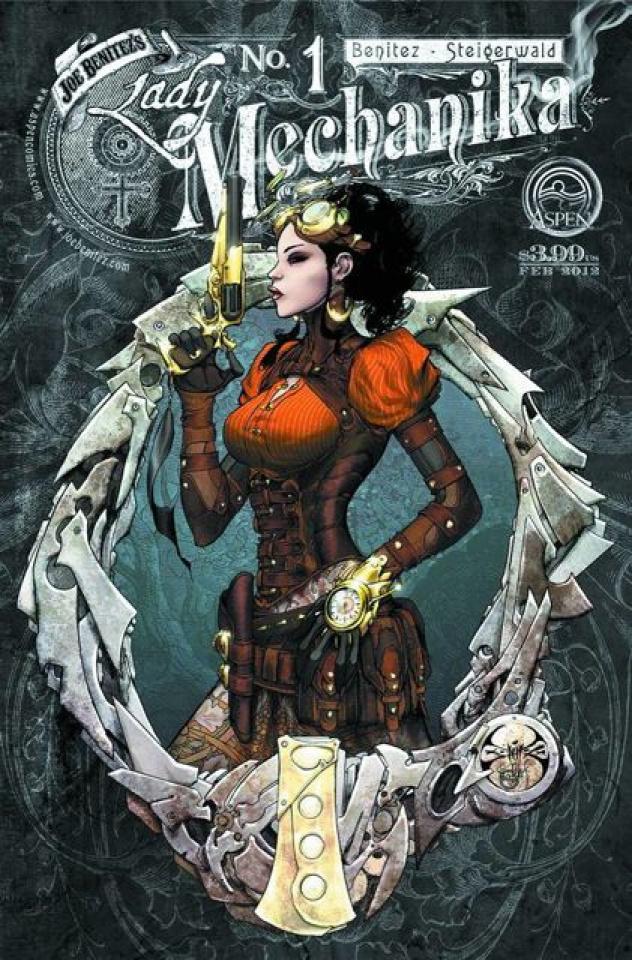 Lady Mechanika #1 (3rd Printing)