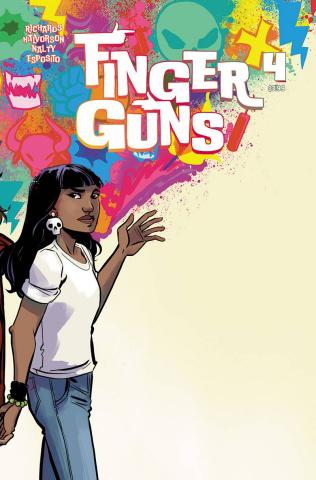 Finger Guns #4 (Hickman Cover)