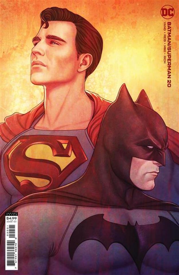 Batman / Superman #20 (Jenny Frison Card Stock Cover)