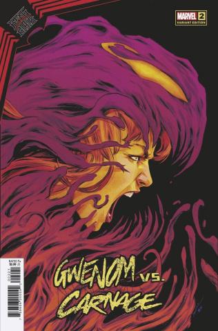 King In Black: Gwenom vs. Carnage #2 (Carmen Cover)