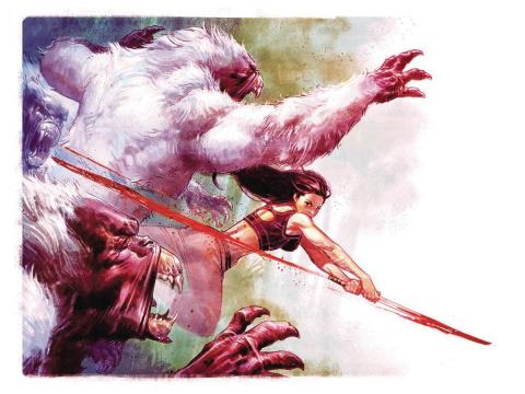 Gung-Ho: Sexy Beast #1 (30 Copy Nic Klein Virgin Cover)