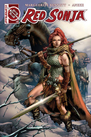 Red Sonja #1 (Anacleto Connect Cover)