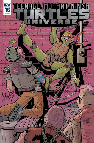 Teenage Mutant Ninja Turtles Universe #16 (10 Copy Cover)