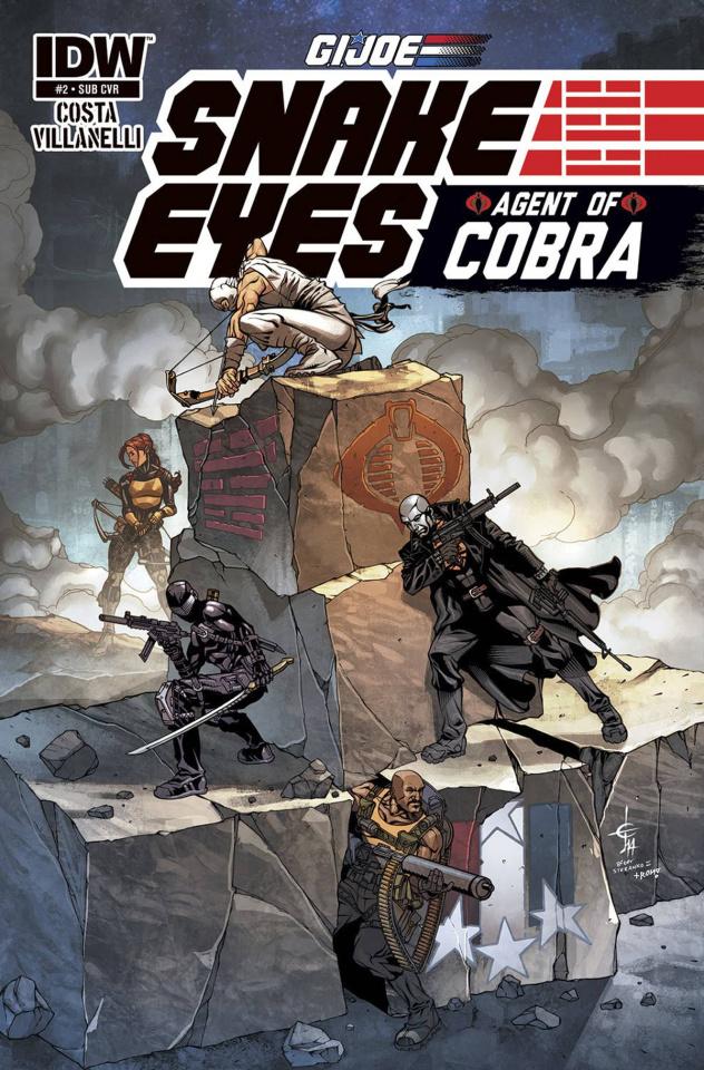 G.I. Joe: Snake Eyes - Agent of Cobra #2 (Subscription Cover)