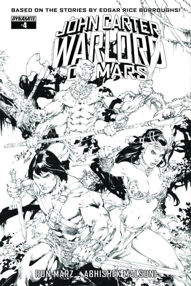 John Carter: Warlord of Mars #6 (20 Copy Benes B&W Cover)