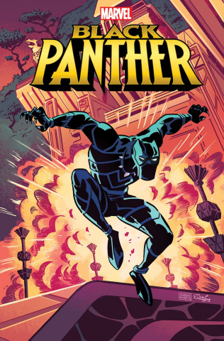 Marvel Action: Black Panther #1 (25 Copy Charretier Cover)