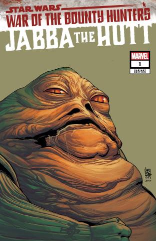 Star Wars: War of the Bounty Hunters - Jabba the Hutt #1 (Headshot Cover)