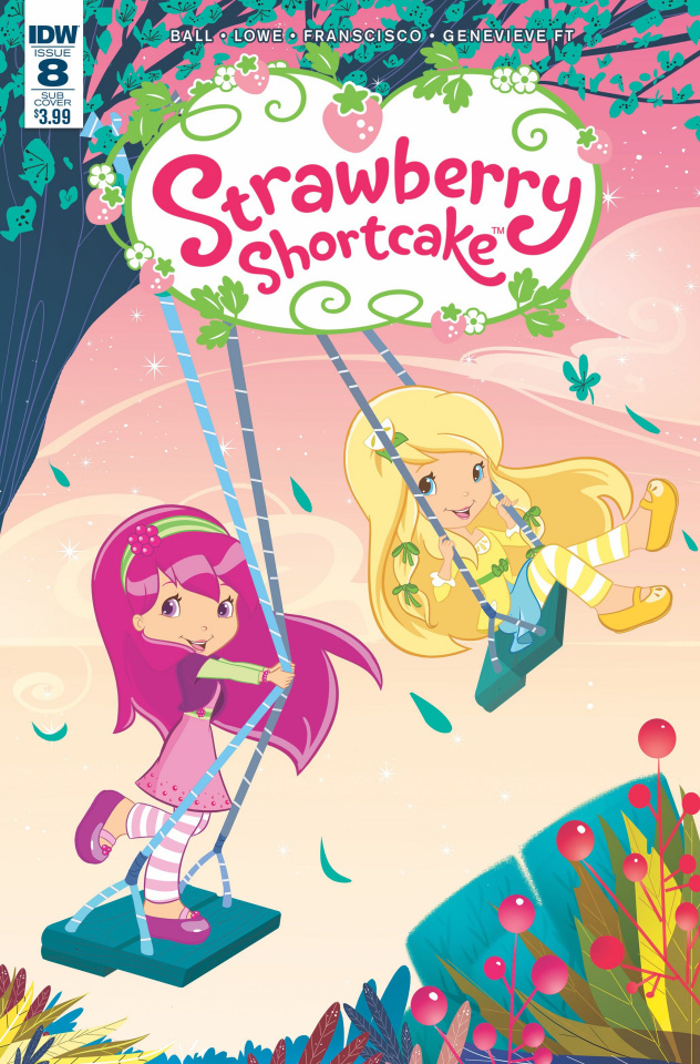 Strawberry Shortcake #8 (Subscription Cover)