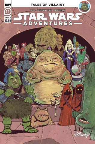 Star Wars Adventures #11 (Nick Brokenshire Cover)