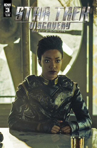 Star Trek: Discovery - Succession #3 (Photo Cover)