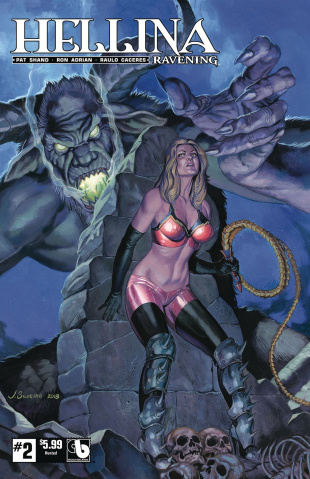 Hellina: Ravening #2 (Hunted Cover)