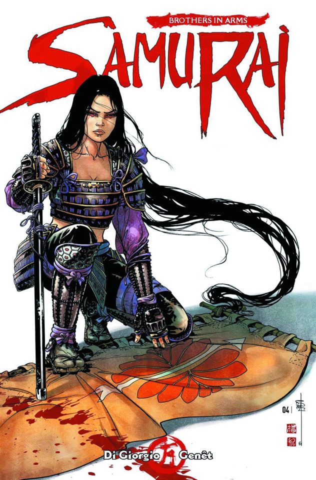 Samurai: Brothers in Arms #3 (Genet Cover)