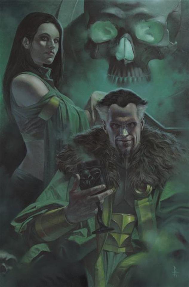 Gotham City Villains: Anniversary Giant #1 (Riccardo Federici Ra's and Talia Card Stock Cover)