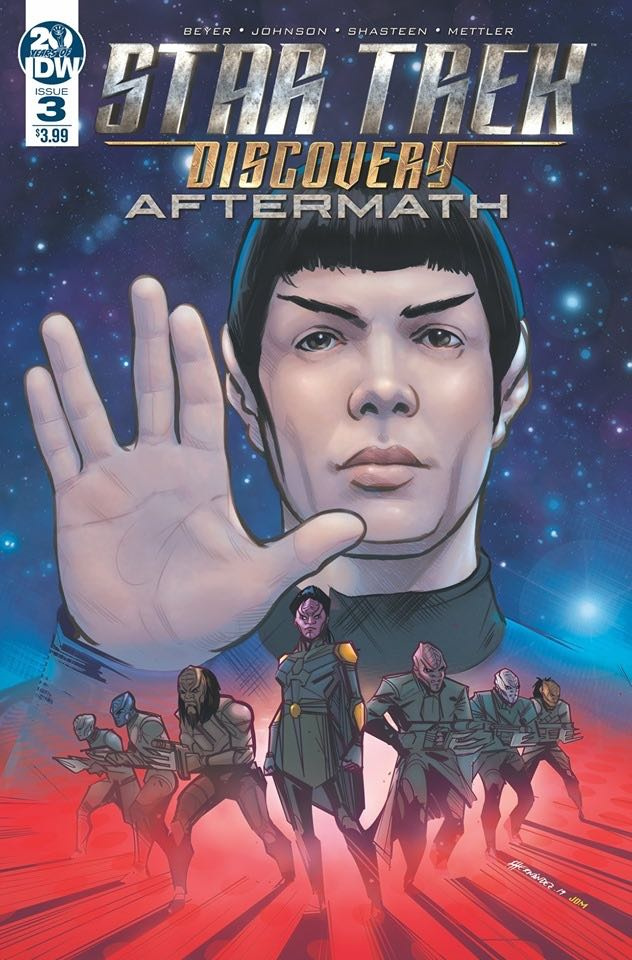 Star Trek Discovery: Aftermath #3 (Hernandez Cover)