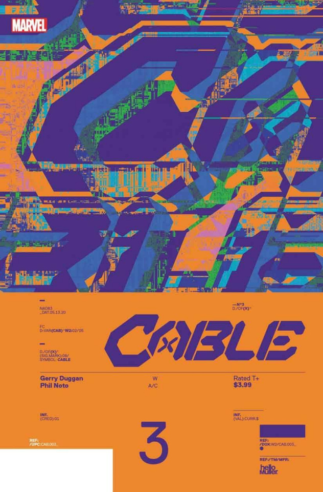 Cable #3 (Muller Design Cover)