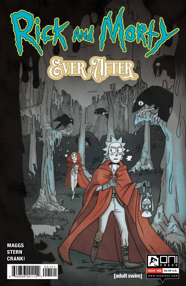 Rick and Morty: Ever After #1 (Cover B)