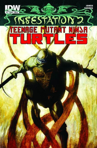 Infestation 2: Teenage Mutant Ninja Turtles #2