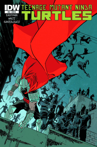 Teenage Mutant Ninja Turtles #22 (10 Copy Cover)