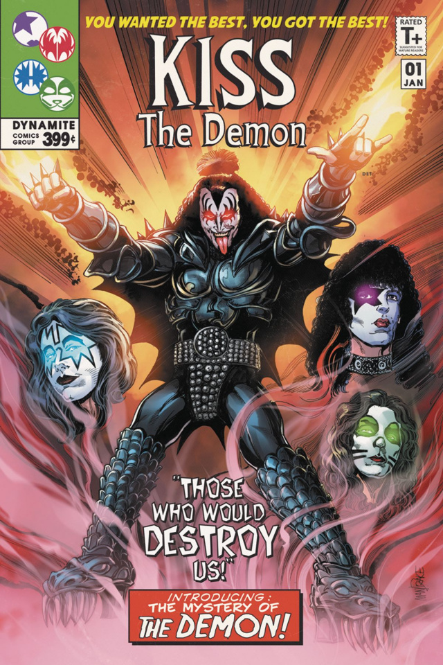 KISS: The Demon #1 (Mandrake Homage Cover)