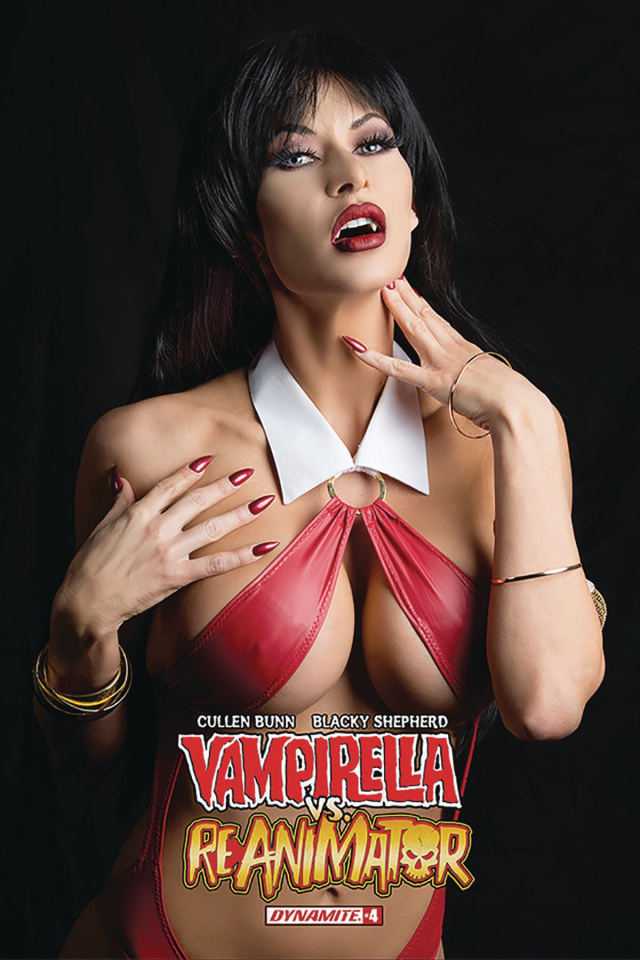 Vampirella vs. Reanimator #4 (Cosplay Cover)