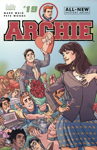 Archie #19 (Pete Woods Cover)