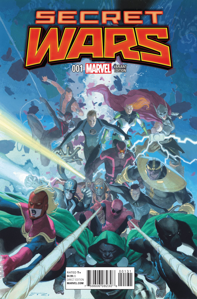 Secret Wars #1 (Ribic Promo Cover)