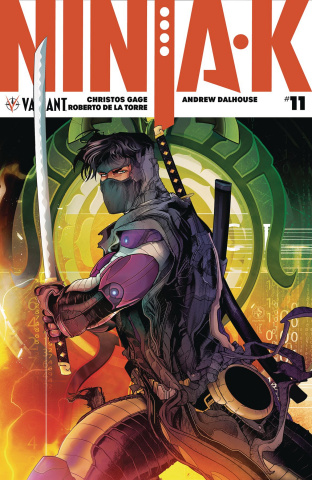 Ninja-K #11 (Colapietro Cover)