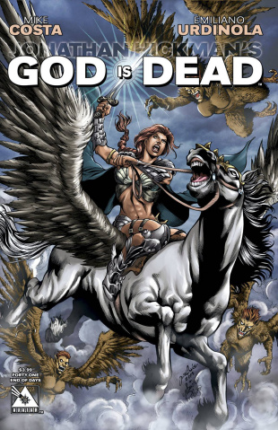 God Is Dead #41 (End of Days Cover)