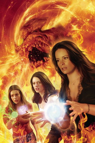 Charmed #4 (20 Copy Corroney Virgin Cover)
