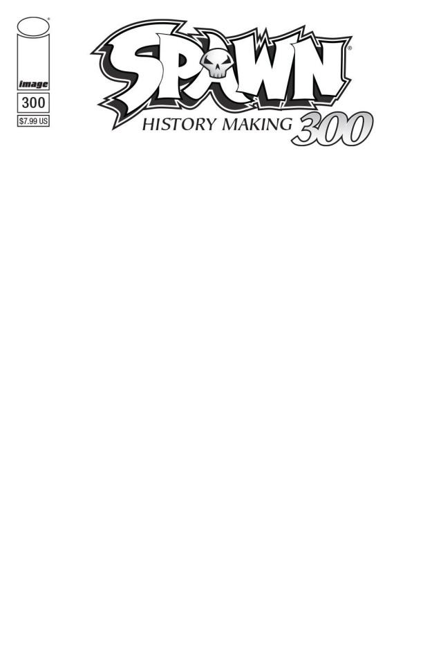 Spawn #300 (Blank Sketch Cover)