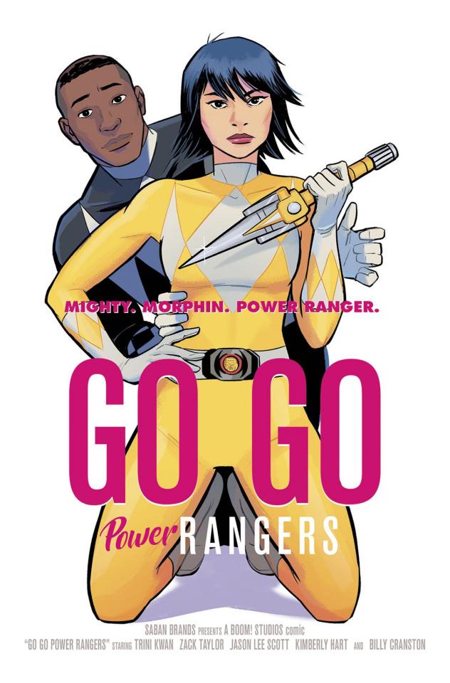 Go, Go, Power Rangers! #2 (25 Copy Bustos Homage Cover)