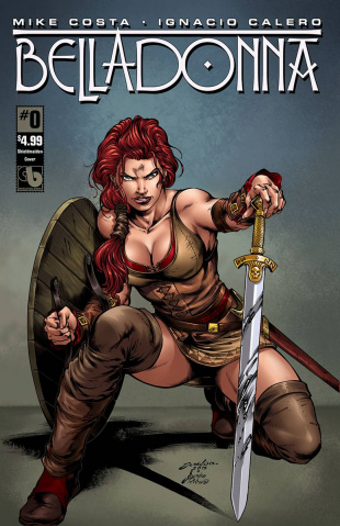 Belladonna #0 (Shield Maiden Cover)
