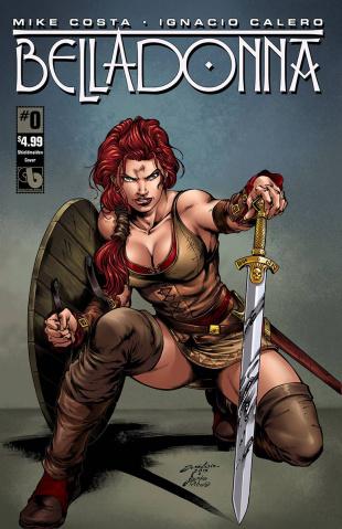 Belladonna #0 (Shield Maiden Cover)