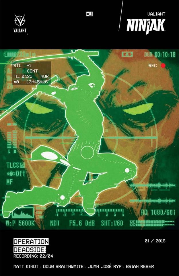 Ninjak #11 (Kano Cover)