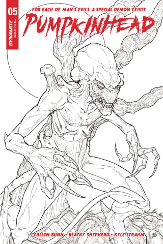 Pumpkinhead #5 (20 Copy Shepherd B&W Cover)