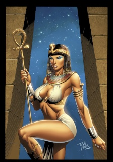 Grimm Fairy Tales: Van Helsing vs. The Mummy of Amun Ra #1 (Rei Cover)