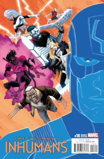 The Uncanny Inhumans #18 (Shalvey IvX Cover)