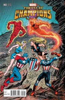 Contest of Champions #2 (Bald Classic Cover)