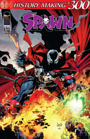 Spawn #300 (Capullo Cover)