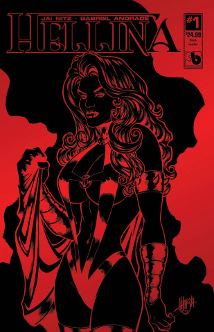 Hellina #1 (Black Leather Cover)