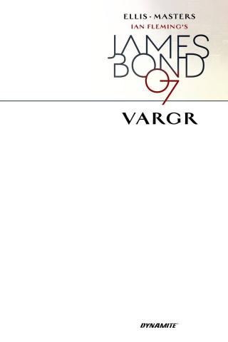 James Bond #1 (Blank Authentix Cover)