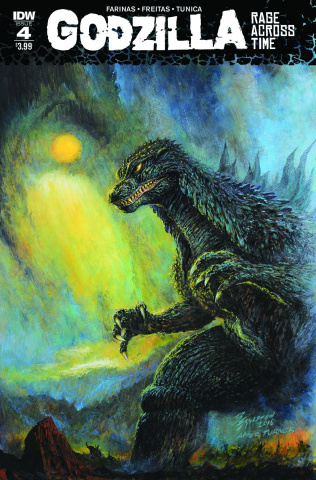 Godzilla: Rage Across Time #4
