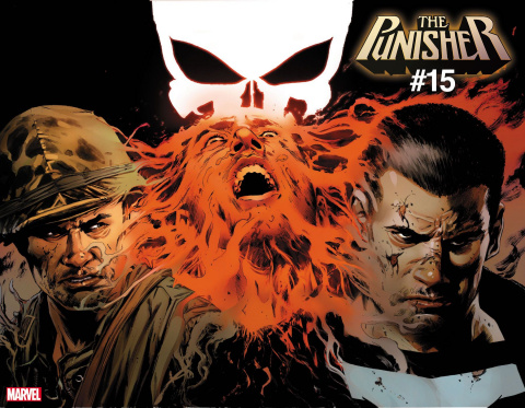 The Punisher #15 (Guice Immortal Wraparound Cover)