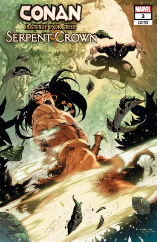 Conan: Battle for the Serpent Crown #3 (Coello Cover)
