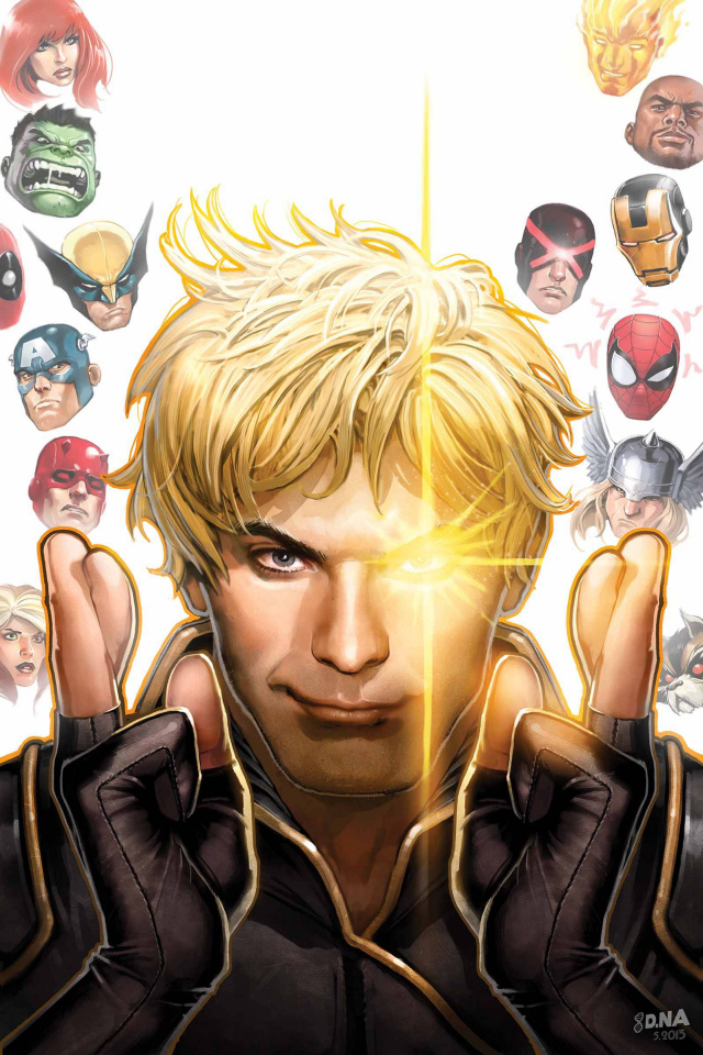 Longshot Saves the Marvel Universe #1