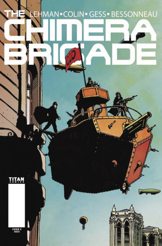 The Chimera Brigade #1 (Gess Cover)