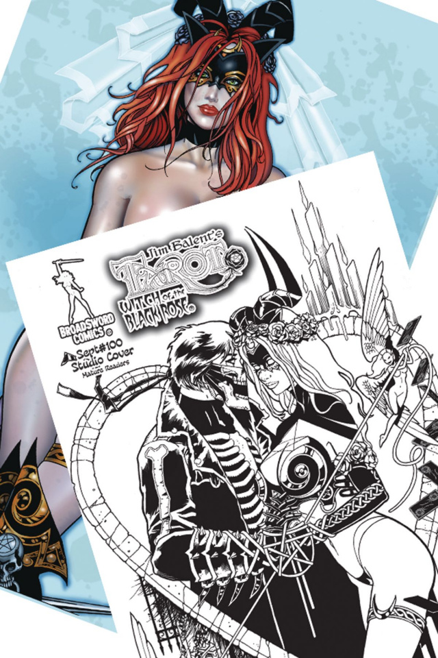 Tarot: Witch of the Black Rose #100 (Studio Deluxe Edition)