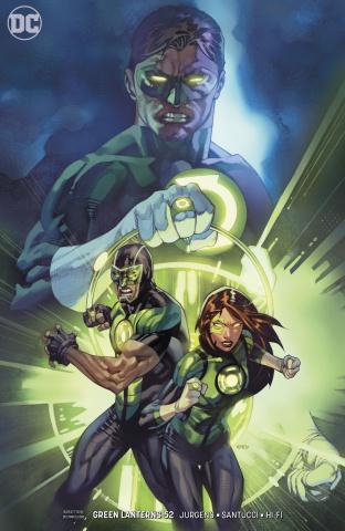 Green Lanterns #52 (Variant Cover)